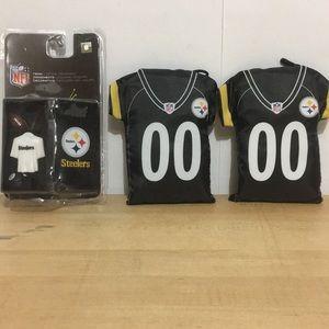🖤💛Pittsburgh Steelers reusable bag & Ornament